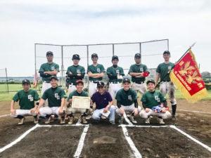 2018年度春季大会2部優勝 Green Giant成城